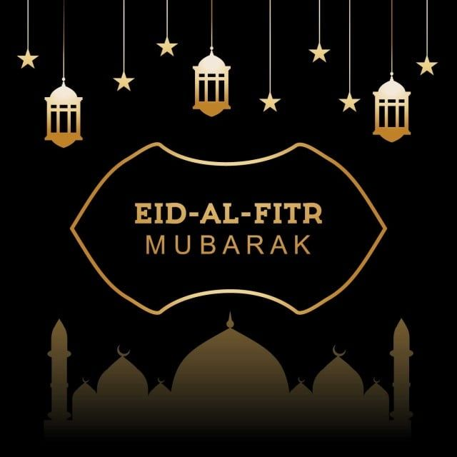 Eid Al Fitr With Lamp And Mosque Arabic Islam Arabian Png And Vector With Transparent Background For Free Download Eid Al Fitr Mosque Vector Eid