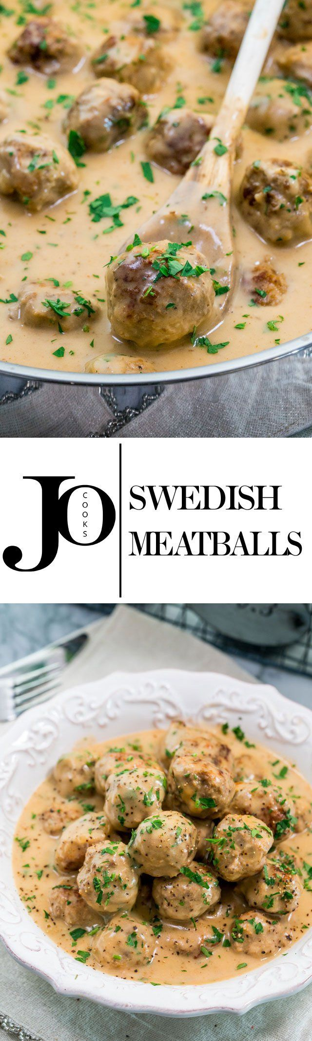 Swedish Meatballs - the mother of all meatballs. Learn how to make these amazing Swedish meatballs with a delicious and tasty gravy!