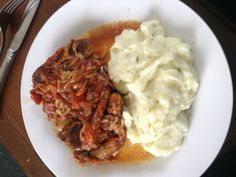 Easy lamb chop casserole