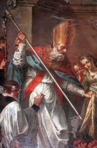 Saint Leo of Catania, Bishop, pray for us and Longi, Sicily, Italy, and Sinagra, Sicily, Italy.  Feast day February 20.