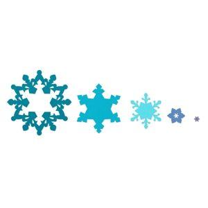 Sizzix Framelits Die Set 3PK - Snowflakes €19,09