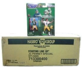 NFL Starting Line-Up Complete Set Case 1998