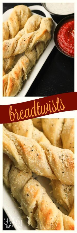 This recipe for Breadtwists (twisted bread sticks) is so easy and sooo good! Inspired by our love of the breadtwists at the Pizza Factory in Utah. via @favfamilyrecipz