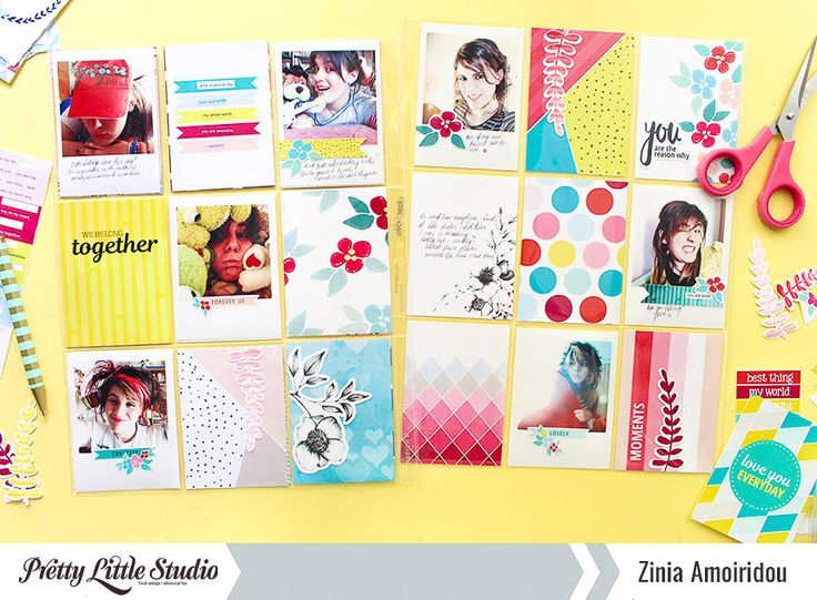 Hello everyone!Ziniahereand today I want to share with you a pocket page spread I created with myBlooming Heartscollection.I recently got back to a pocket page format of documenting and I'm basically using it like a diary. In this album I keep all sorts of memorabilia and put old and…