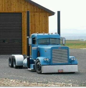 Peterbilt and awesome shop