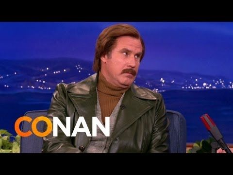 Ron Burgundy's Prison Riot Survival Tips, 2013<---- Isn't it ironic how Ferrell is now starring in a movie where he has to go to prison....
