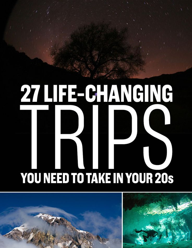 27 Epic Adventures Worth Taking In Your Twenties