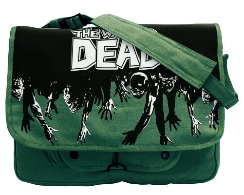 I want this. Walking Dead messenger bag from Skybound