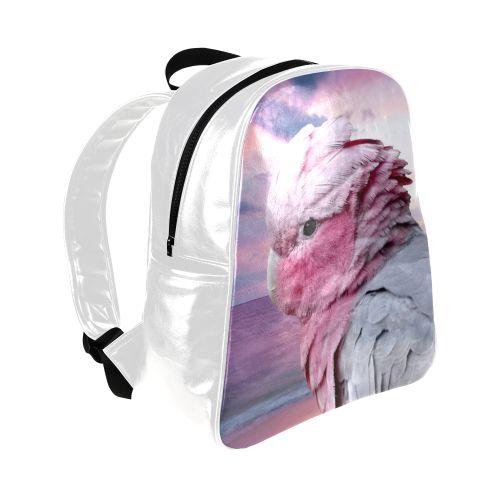 Galah Cockatoo Multi-Pockets Backpack. FREE Shipping. FREE Returns. #lbackpacks #parrots