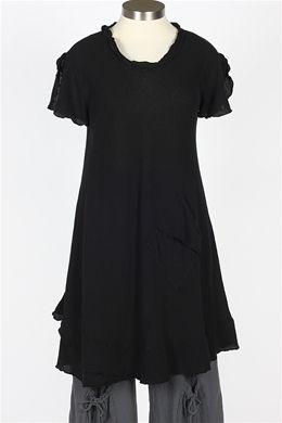 Oh My Gauze - LA Dress - Black