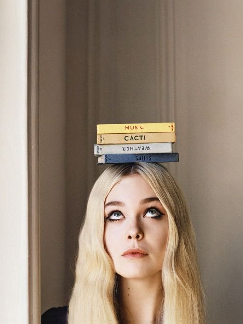 Elle Fanning in Elle of the Ball photographed by Angelo Pennetta for UK Vogue, June 2014