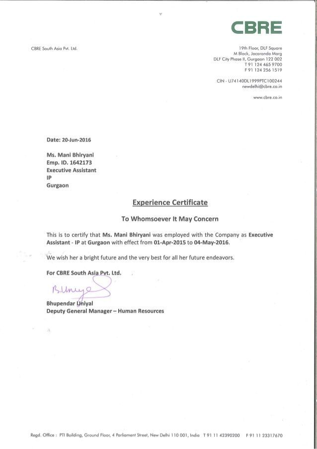 Amazing Template Of Experience Certificate In 2021 Work Experience Work Reference Letter No Experience Jobs