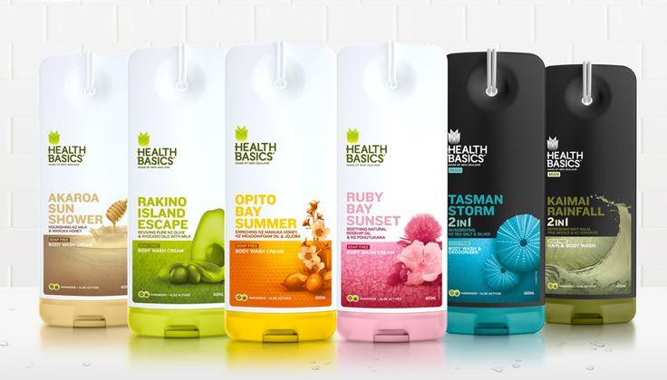 Best Health Basics Packaging Design Layout