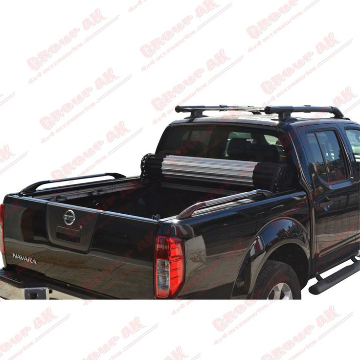 Roll-X roll up cover+ side rails Nissan Navara D40