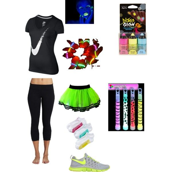 Glow Run Inspired: for my daughters upcoming marathon