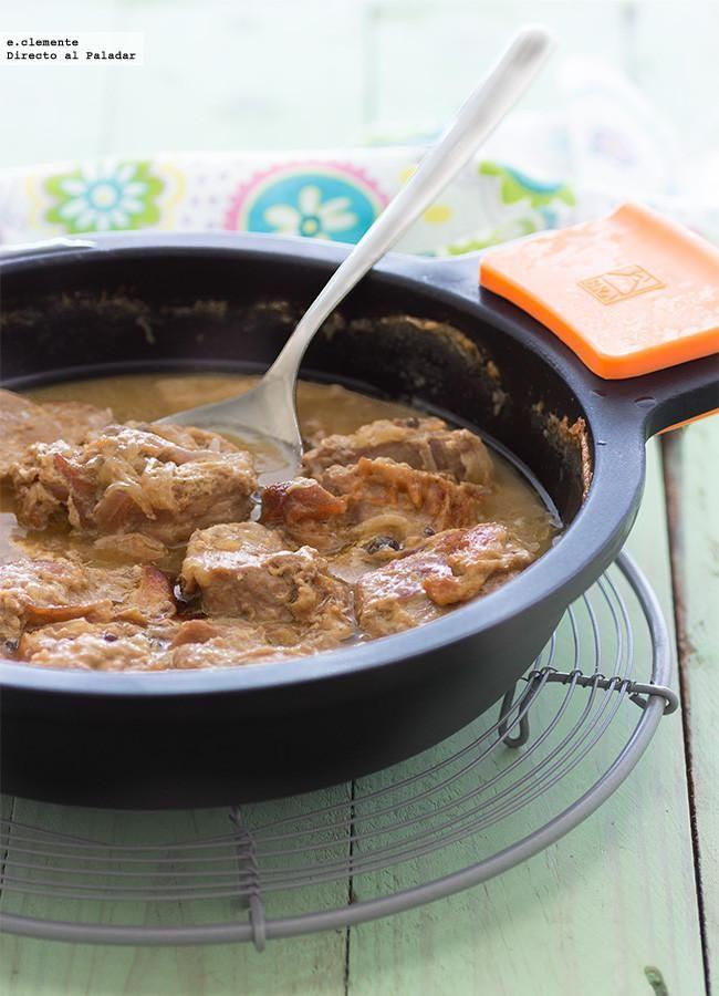 Solomillo de cerdo con leche y mostaza receta pinterest - Solomillo de ternera al horno con mostaza ...