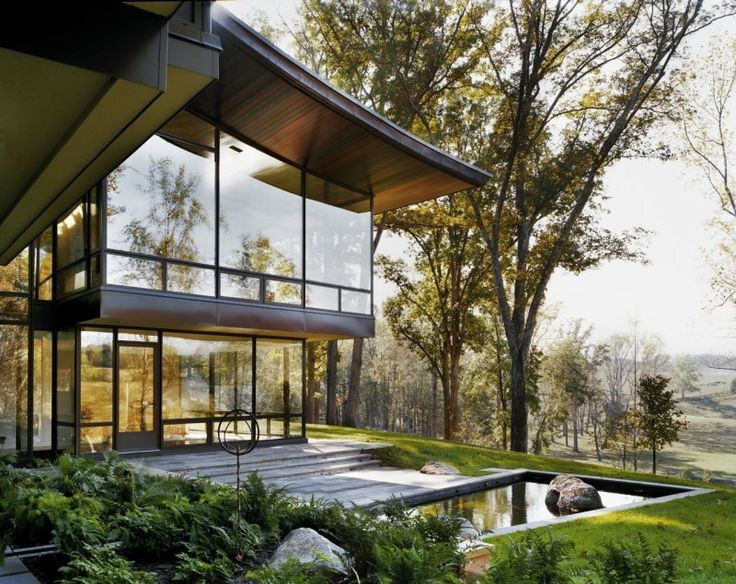 Blue Ridge Residence By Voorsanger Architects Nice Look