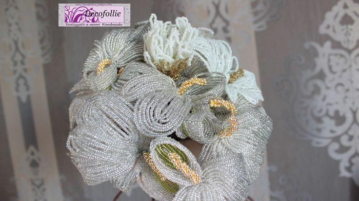 bouquet di perline su www.decofollie.jimdo.com