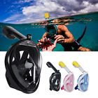 ﹩21.99. Full Face Snorkeling Mask Scuba Diving Swimming Snorkel Breather Pipe for GoPro    Color - Pink/Blue/Black, Product Weight - 0.47kg, Size - XS,S/M,L/XL