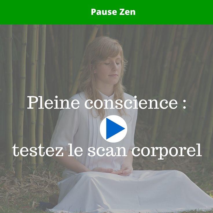 Je vous invite à tester aujourd'hui le scan corporel, une pratique de méditation pleine conscience qui vous apportera calme et clairvoyance.