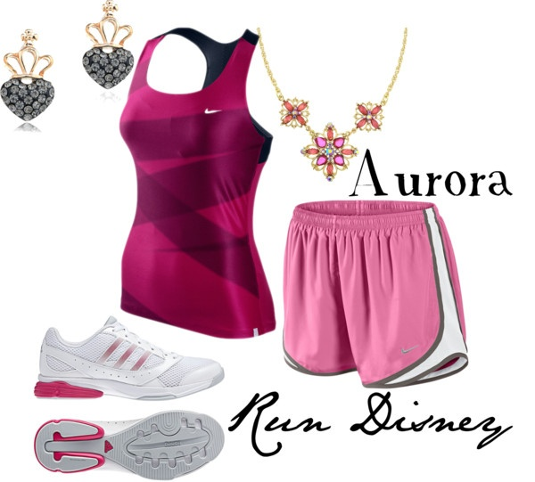 """Run Disney: Aurora Inspired"" by disneydiva305 liked on ..."