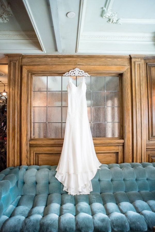 Sheath David Fielden wedding dress: http://www.stylemepretty.com/new-york-weddings/new-york-city/2017/03/10/first-she-said-yes-to-the-dress-then-she-said-i-do-to-the-wedding-of-her-dreams/ Photography: Mikkel Paige - https://www.mikkelpaige.com/