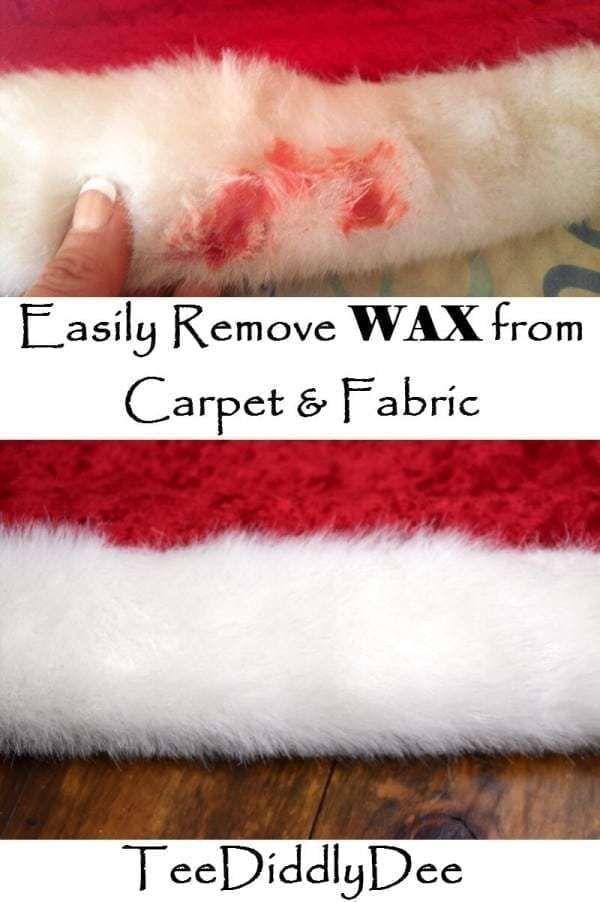 383f78a415d8668364882313033b1d6e - How To Get Red Candle Wax Out Of White Carpet