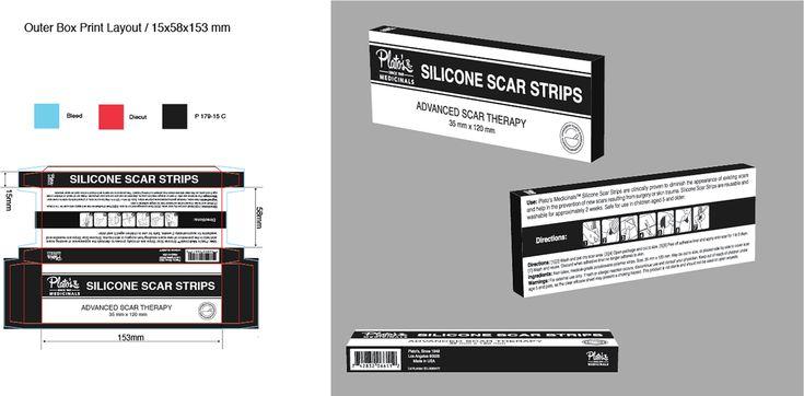 Plato's Medicinals Scar Strip Packaging on Behance