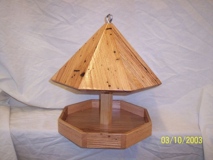 Octagon Bird Feeder Plans Free - WoodWorking Projects & Plans