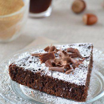 Gâteau à la poêle, au sucre Rapadura et chocolat