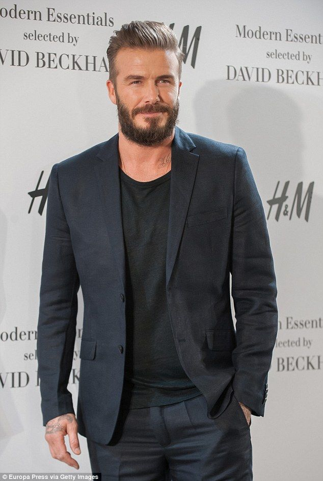 David Beckham returns to Madrid in hipster style as he presents a new menswear collection  Read more: http://www.dailymail.co.uk/tvshowbiz/article-3004210/David-Beckham-returns-Madrid-hipster-style-presents-new-menswear-collection.html#ixzz3Uw6dj0NM Follow us: @MailOnline on Twitter | DailyMail on Facebook