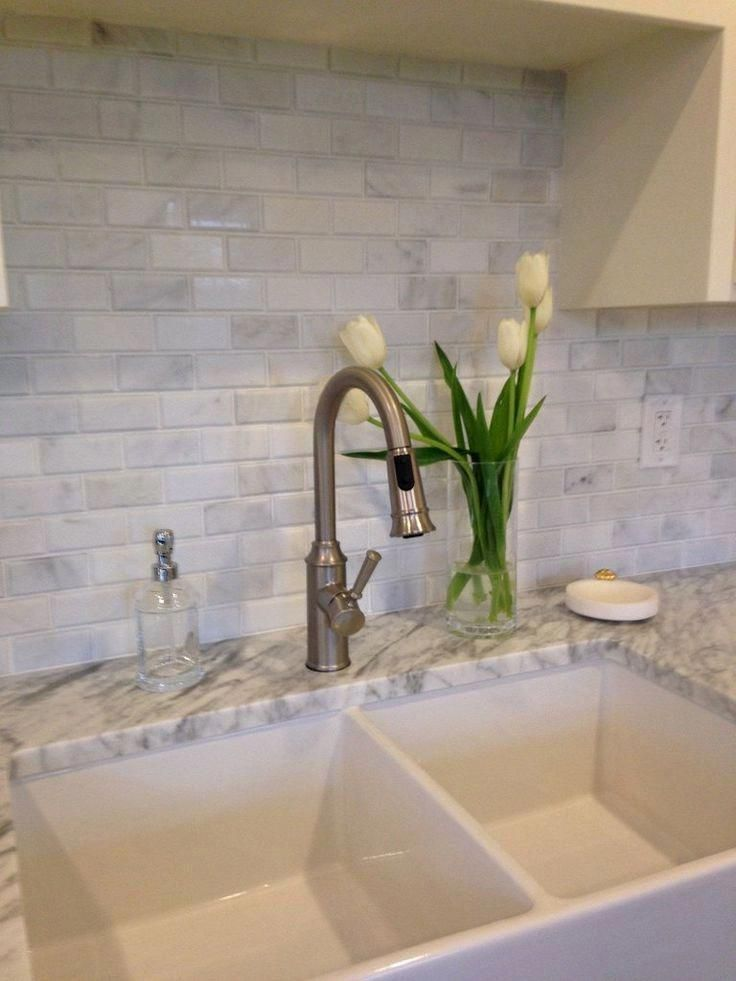 Carrara Marble Brick Tiles