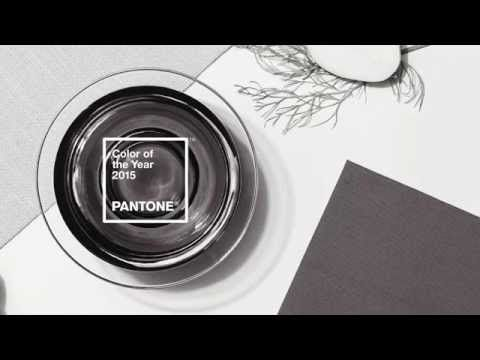 The Pantone Color of the Year for 2015 is: Marsala - YouTube