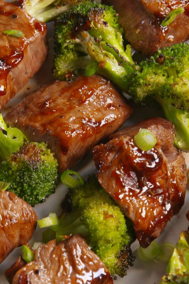 Beef & Broccoli Kebabs Are So Much Better Than Takeout - Delish.com More