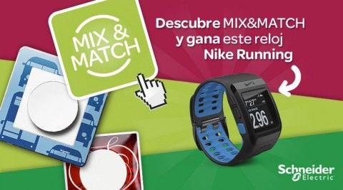 Descubre Mix&Match y gana un reloj Nike Running