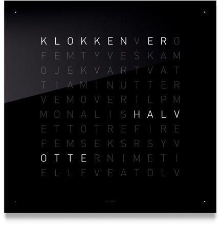 QLOCKTWO BY BIEGERT & FUNK