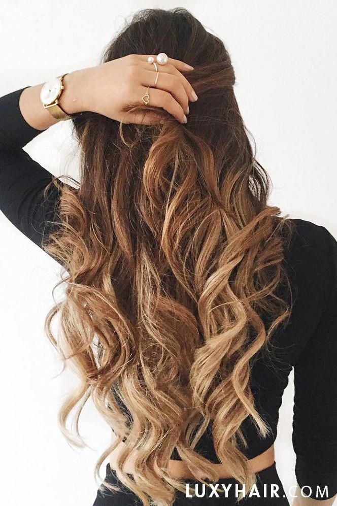 Ombre Blonde Luxy Hair Extensions Hairinspiration In 2020 Long