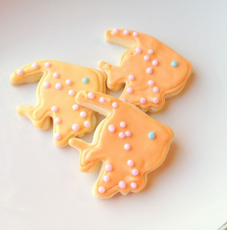 Iced Tropical Fish Sugar Cookie Decorated Cookie Island Tropical Theme. $19.95, via Etsy.