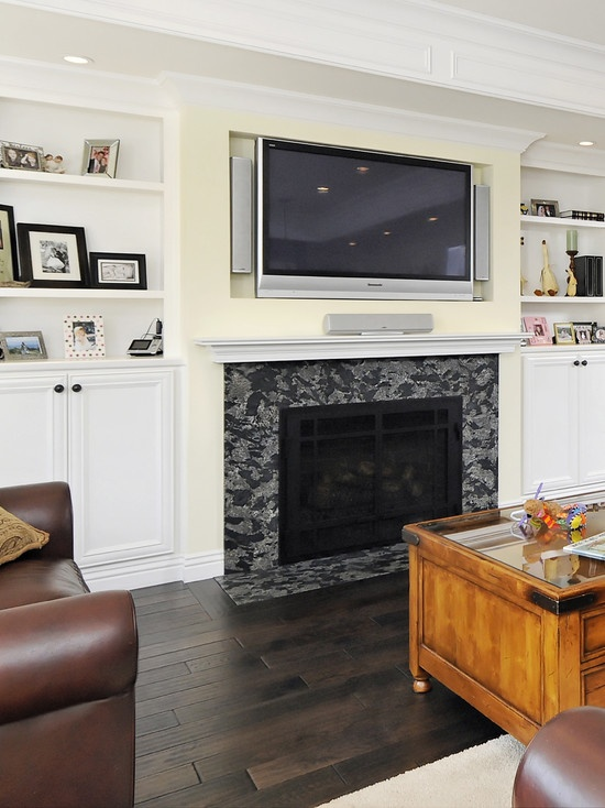 Wall Mounted Flat Screen Tv Design  Pictures  Remodel  Decor and Ideas    page36 best Flatscreen   how to hang it images on Pinterest  . Flat Screen Tv Design Ideas. Home Design Ideas
