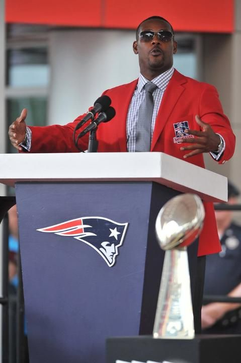 Ty Law's Patriots Hall of Fame Induction Ceremony
