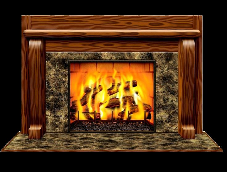 Superb 5ft Fireplace Wall Mural Winter Christmas Scene Setter Prop Party Supplies Part 22