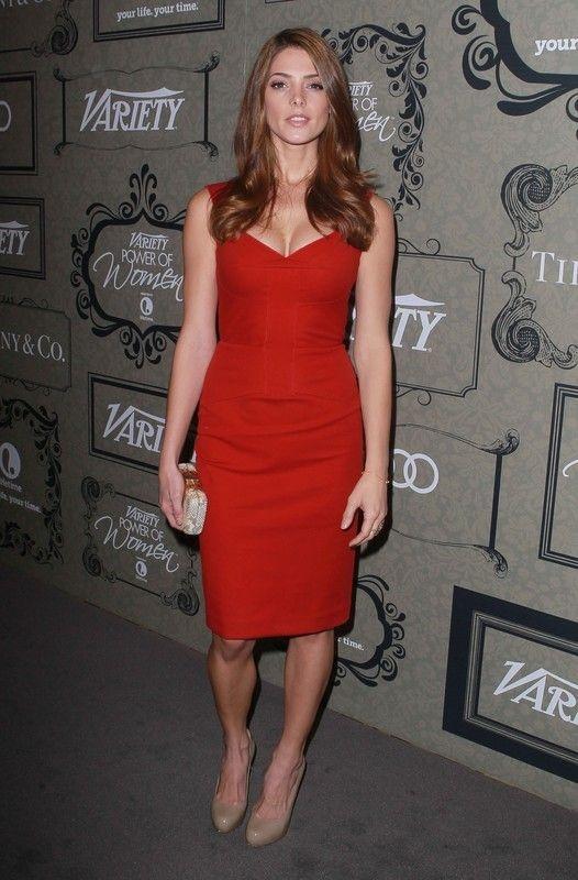 Ashley Greene w sukience Roland Mouret na imprezie Variety's Power of Women (fot. East News)