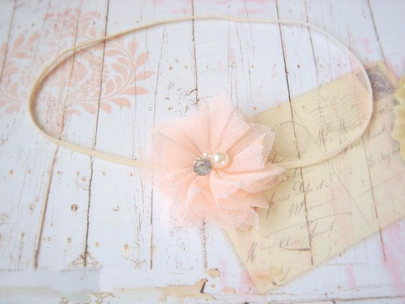 "Light pink ""Lacee"" Headband"