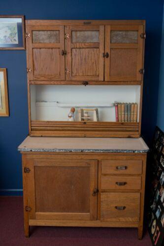 Best Details About Antique Mcdougall Hoosier Cabinet Oak In 400 x 300