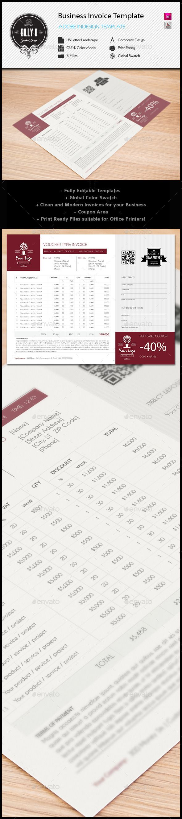17 best images about bs i n v o i c e s flats business invoice templates us letter