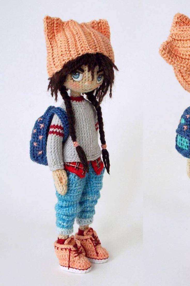 Amigurumi Free Pattern: Cute Crochet Miniature Amigurumi How To 35