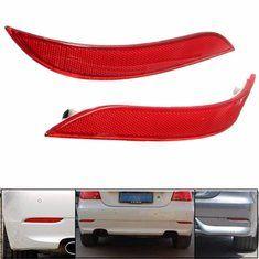 #Banggood Пара красный задний бампер отражатель свет BMW 5 серии E60 525i 528i 530i 535i 545i (1112851) #SuperDeals