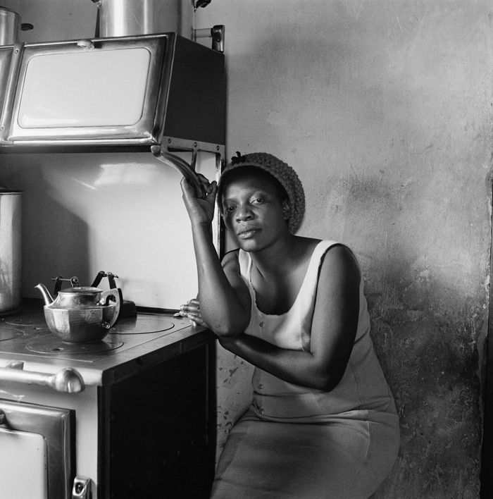 David Goldblatt. Woman in her mother's home, Soweto, Johannesburg, 1972.