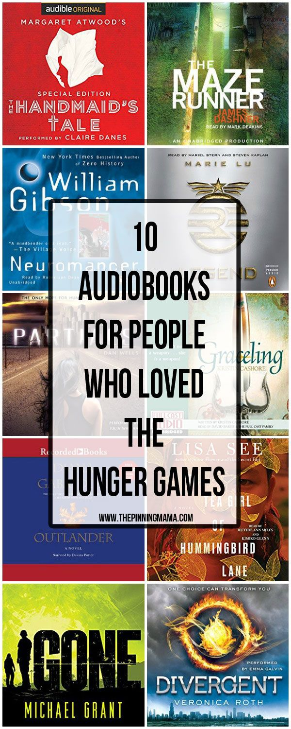 10 Audiobooks For People Who Loved The Hunger Games