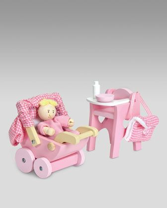 Nursery Baby Doll Set By Le Toy Van At Neiman Marcus.